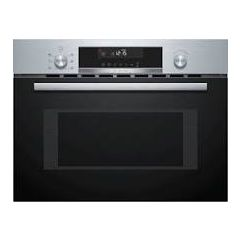 Bosch CMA585GS0B Compact 45cm Microwave Combination Oven