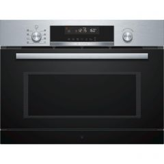 Bosch CPA565GS0B Compact 45cm 3-In-1 Mw, Steamer + Oven