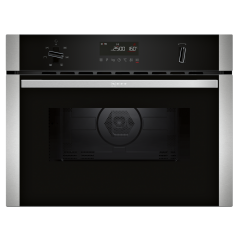 Neff C1AMG84N0B Compact 45cm Microwave Combination Oven