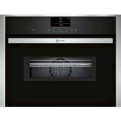 Neff C27MS22H0B Compact 45cm Oven with Microwave