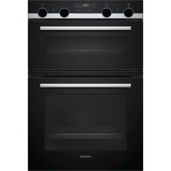 Siemens MB578G5S6B Built In Double Pyrolytic Oven